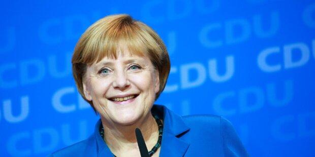 Merkel als Kanzlerin mit drittlängster Amtszeit