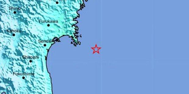 Erdbeben erschüttert Norden von Japan