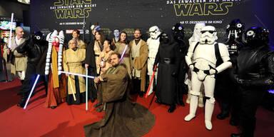 Star Wars-Premiere in Wien
