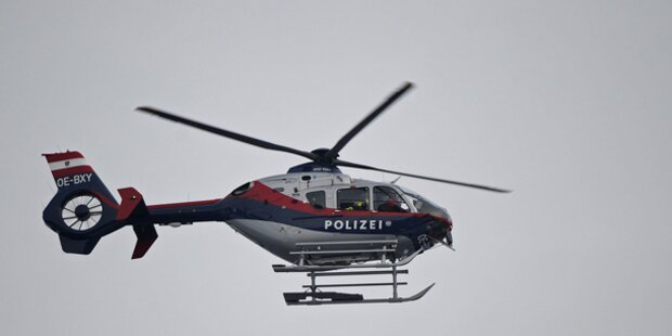 Pärchen benutzte Polizei-Heli als