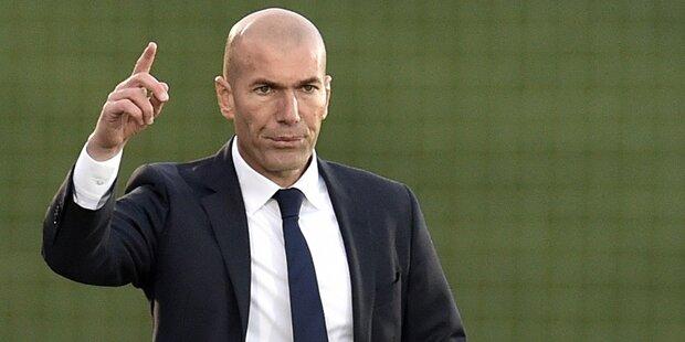 Hammer: Nun geht auch Zidane zu Juve