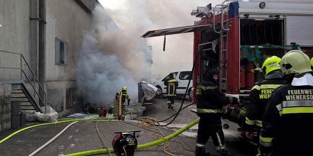 Ermittlungen nach Brand in Caritas-Lager