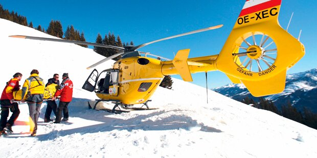 330 Ski-Unfälle jeden Tag