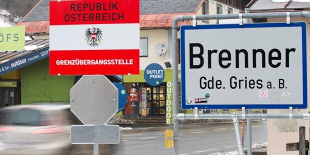 Flüchtlinge: Österreicher für Brenner Kontrollen
