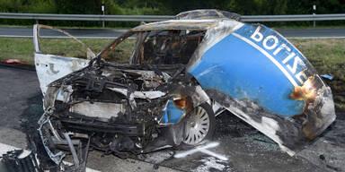 Zwei Polizisten bei Horror-Crash getötet