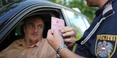 Podersdorf: 28 Führerscheine abgenommen