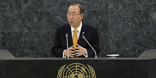 Ban Ki-moon eröffnet UN-Vollversammlung