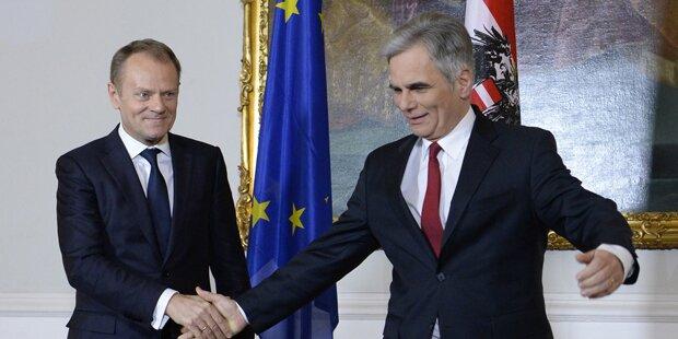 Polen lässt Tusk fallen - jetzt Chance für Faymann?