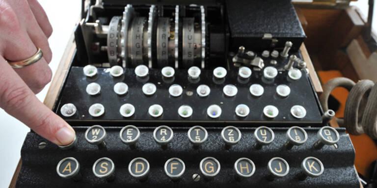 Enigma-Codierer für 70.000 Euro versteigert