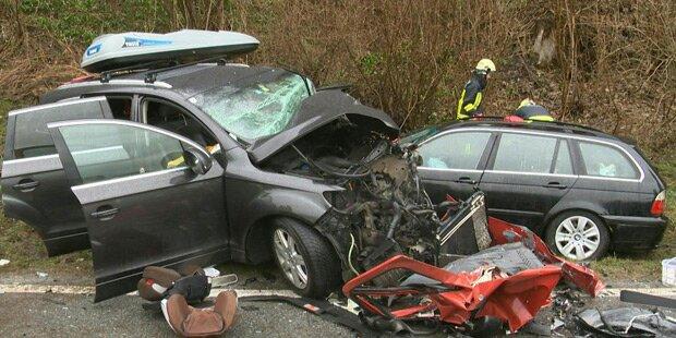 Zehn Verletzte bei Horror-Crash in der Steiermark