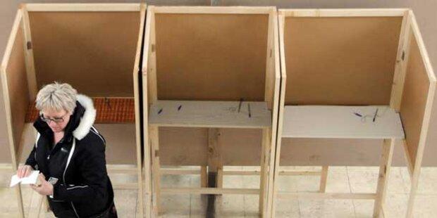 Schimpfen im Wahllokal kostet 1.000 Euro