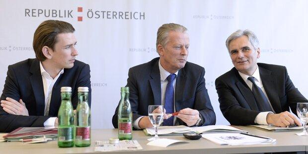 EU-Präsident: Kurz will Faymann
