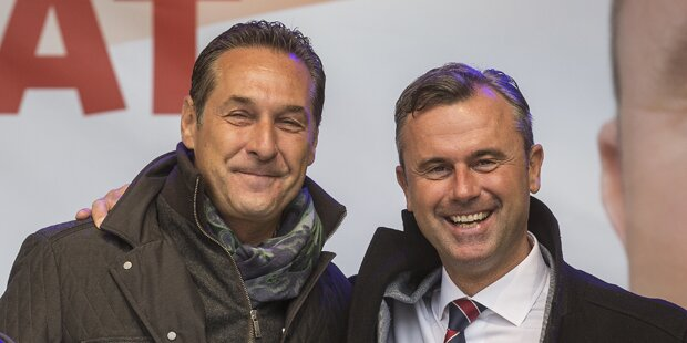 Strache und Hofer am FPÖ-Oktoberfest