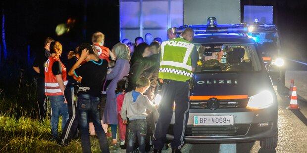 84 Schlepper im Burgenland festgenommen