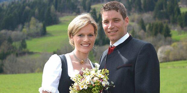 Heute heiraten Benni & Marlies