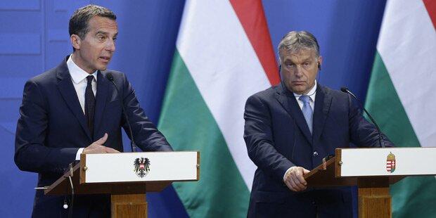 Krisengespräch zwischen Kern und Orban
