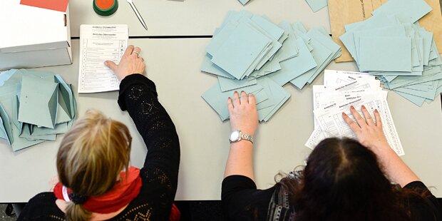 Einbruch in Zweigstelle von Wahlkarten-Druckerei