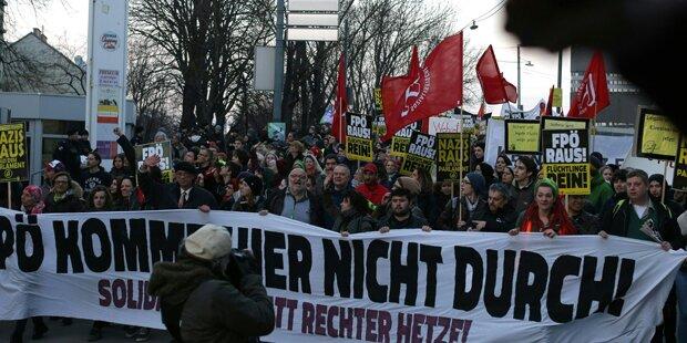 Pro-Asyl-Demo legt heute Wiener City lahm