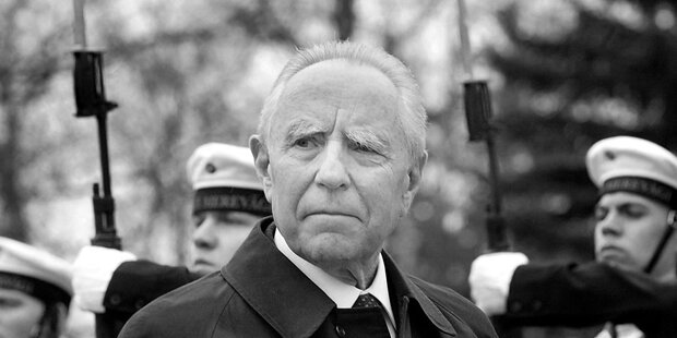 Früherer Italienischer Staatspräsident Ciampi gestorben
