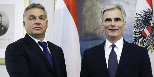 Flüchtlinge: Orban hinterging Faymann
