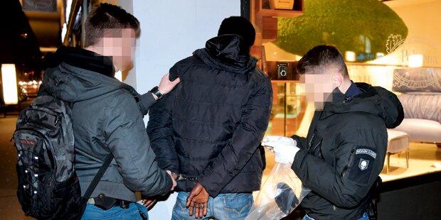 Aktion scharf gegen Drogen-Dealer