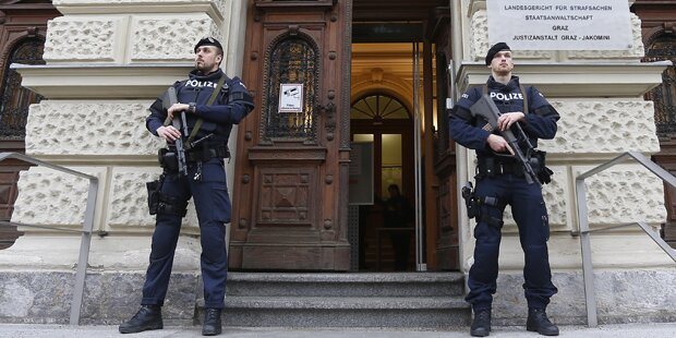 Grazer Jihadisten-Prozess vertagt
