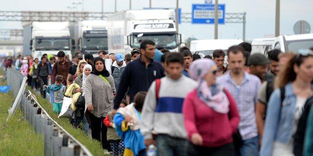 Flüchtlings-Streit zwischen Ungarn und Österreich entbrannt