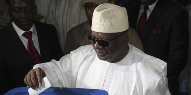 Mali: Boubacar Keita zum Präsidenten gewählt