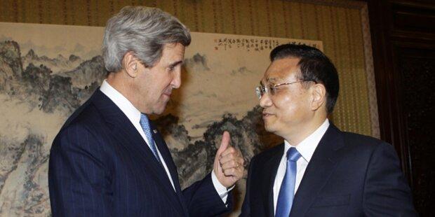 Kerry wirbt um Unterstützung Chinas