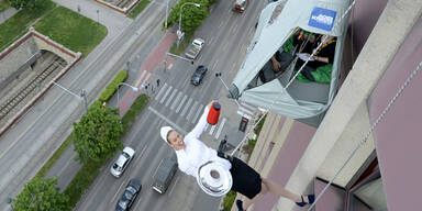 """""""Urban Biwaking"""": Zelten in luftiger Höhe"""