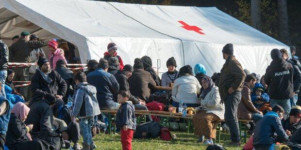 Spendenabzug nur für Transitflüchtlinge