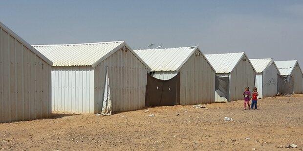 Immer mehr Flüchtlingscamps in der Wüste