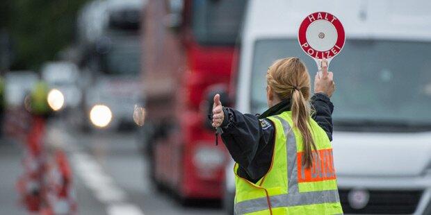 Mega-Stau nach Serienunfall auf Westautobahn
