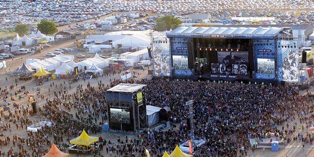 180.000 Fans stürmen NOVA Rock