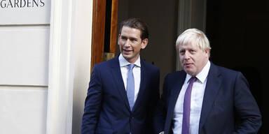 """Brexit: Kurz warnt vor """"großem Chaos"""""""