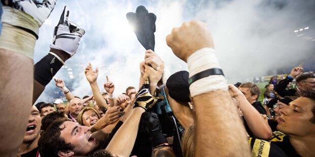 Raiders Tirol krönten perfekte Saison mit Austrian Bowl