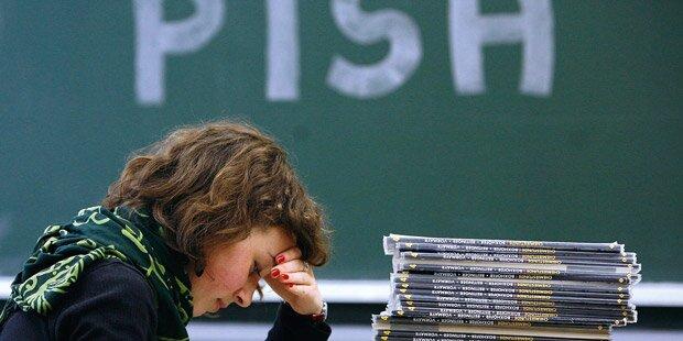 PISA-Alarm: Wir können nicht lesen!