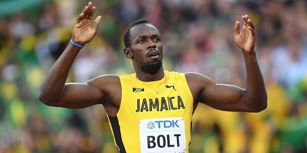 Usain Bolt verpasst Gold in seinem letztem Einzel-Rennen