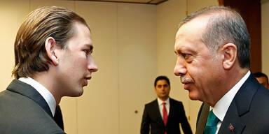 Sebastian Kurz und Recep Erdogan