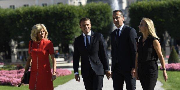 FPÖ wettert: Macron-Besuch kostete 43.000 Euro