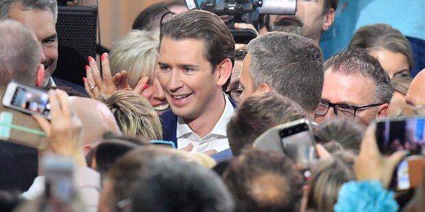 Triumph für die ÖVP