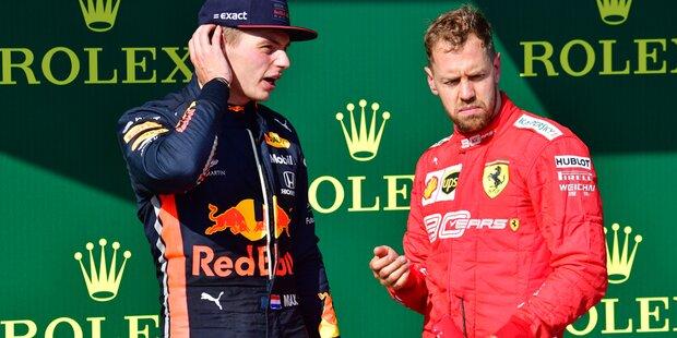 Vettel ätzt gegen Verstappen: 'Sehr unreif'