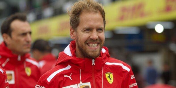 Penis-Spruch von Vettel sorgt für Lacher