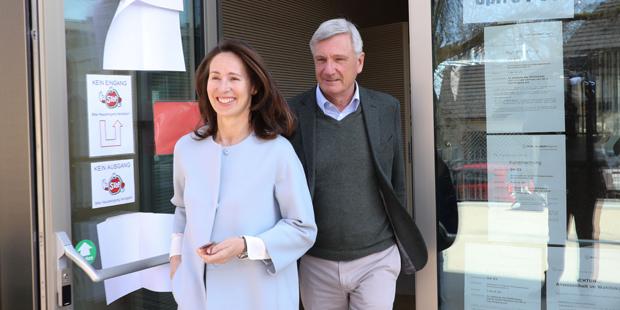 Wahlen in Salzburg Preuner mit Frau