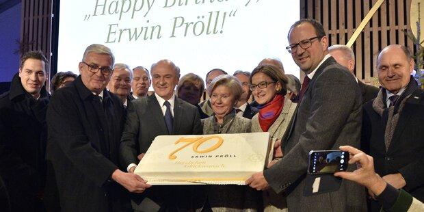 Erwin Pröll: Eine Polit-Legende wird 70