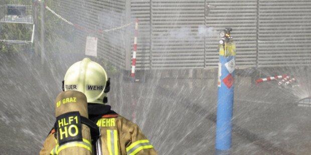 Wieder Brand an der TU Graz