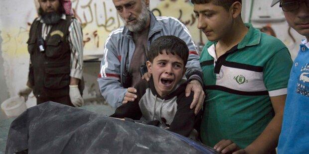 Aleppo: Rund 500 Zivilisten durch Angriffe getötet