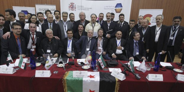Syrische Opposition fordert EU Waffenlieferungen