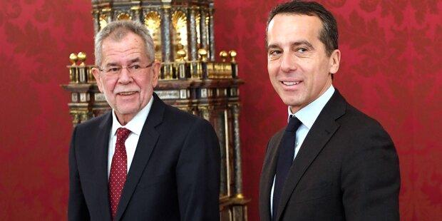 Kern sieht für SPÖ keine Limits