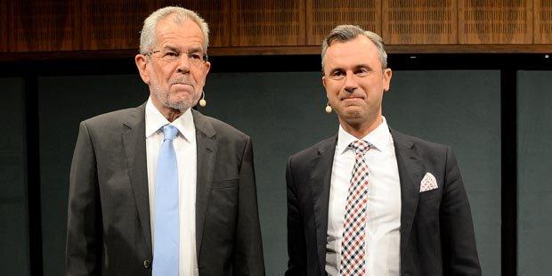 Heißes TV-Duell um Hofburg